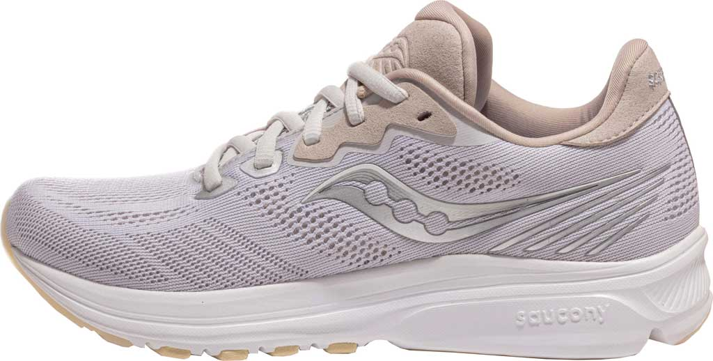 Women's Saucony Ride 14 Running Sneaker, New Natural, large, image 3
