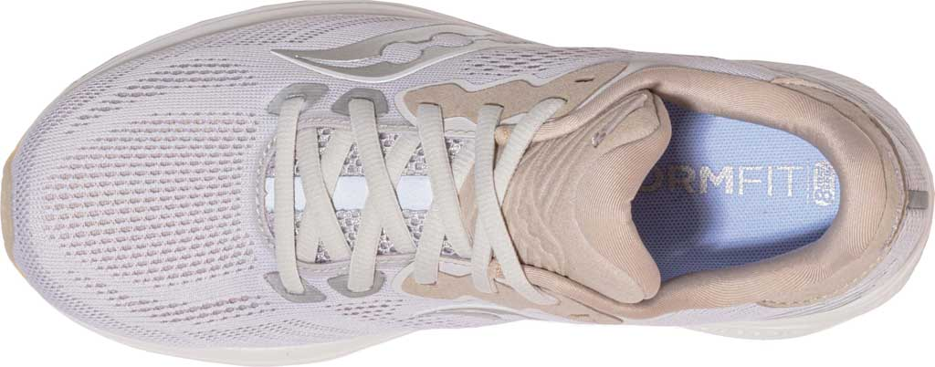 Women's Saucony Ride 14 Running Sneaker, New Natural, large, image 4