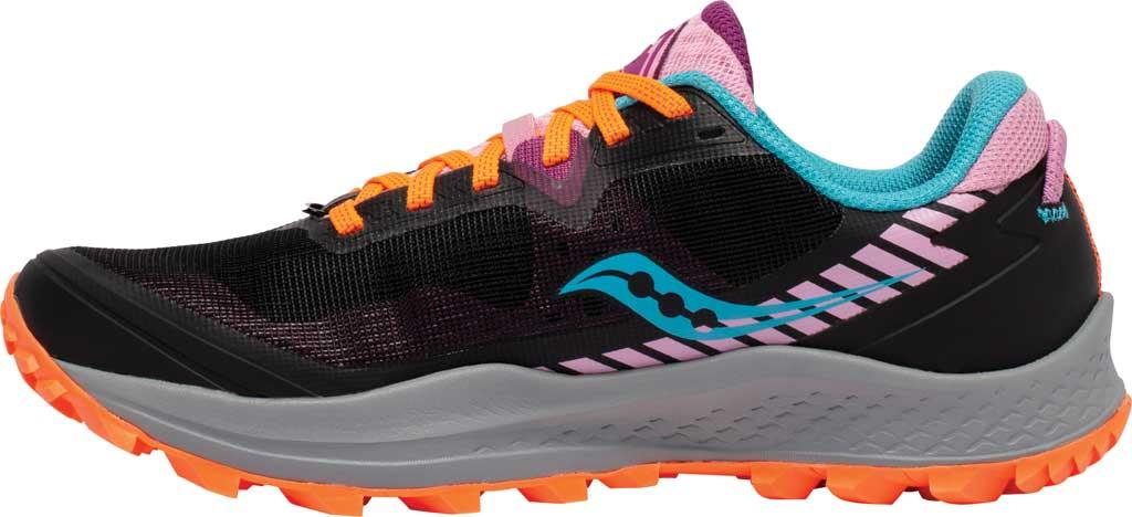 Women's Saucony Peregrine 11 Running Sneaker, Future Black, large, image 3