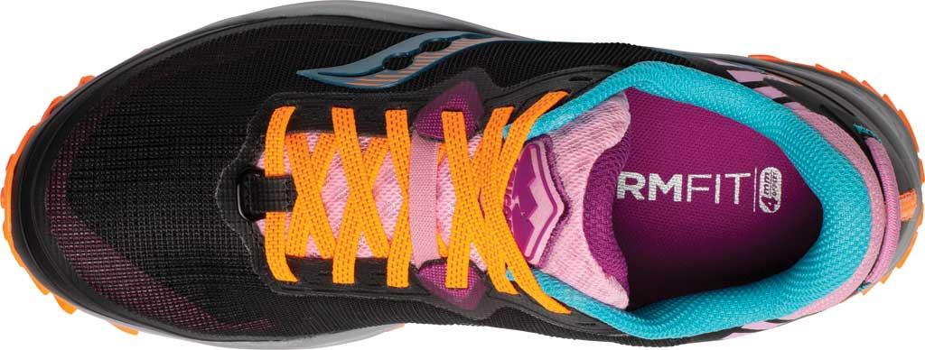 Women's Saucony Peregrine 11 Running Sneaker, Future Black, large, image 4