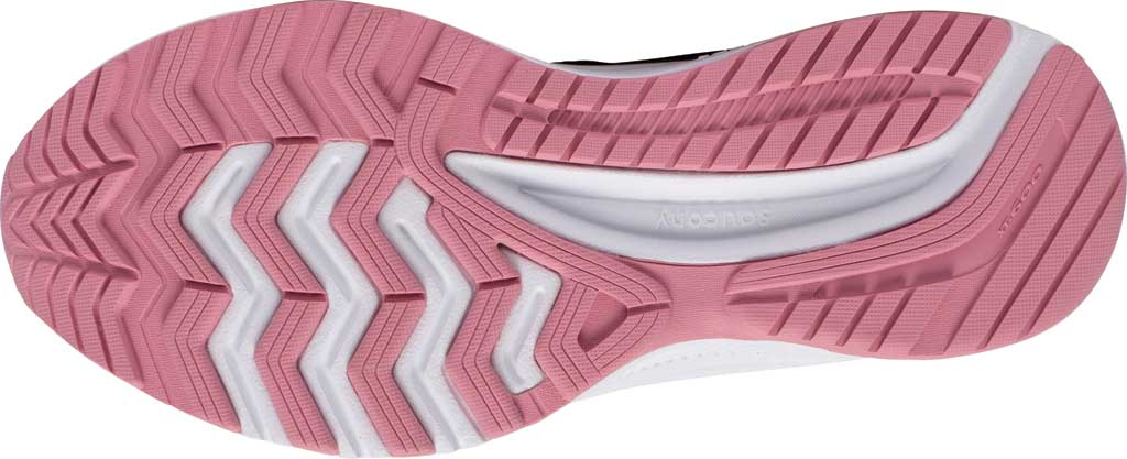 Women's Saucony Cohesion 14 Running Sneaker, Black/Pink, large, image 5