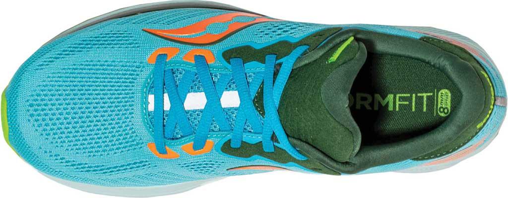 Men's Saucony Ride 14 Running Sneaker, Future Blue, large, image 4