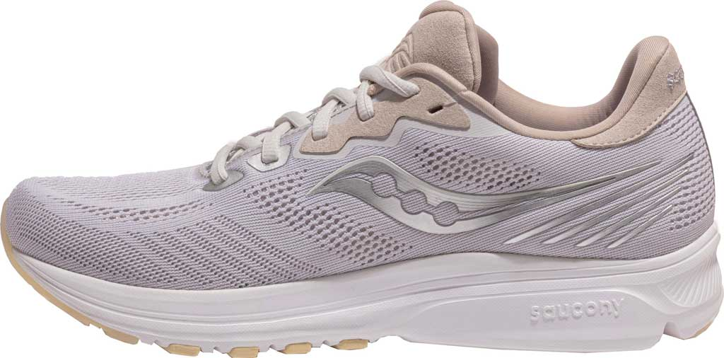 Men's Saucony Ride 14 Running Sneaker, New Natural, large, image 3