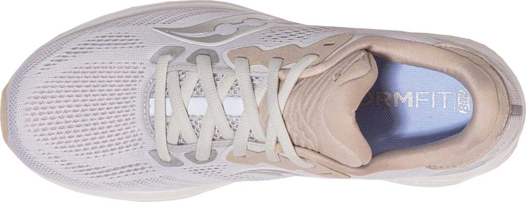 Men's Saucony Ride 14 Running Sneaker, New Natural, large, image 4