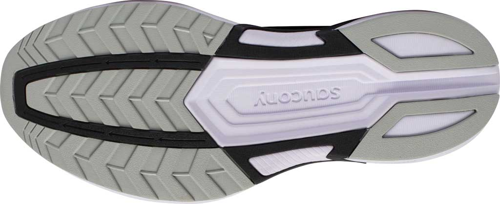 Men's Saucony Axon Running Sneaker, Black/White, large, image 5