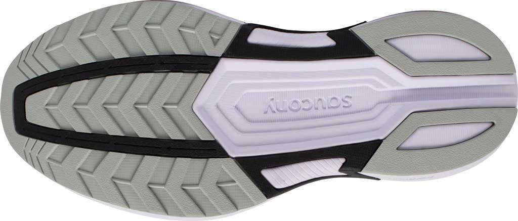 Women's Saucony Axon Running Sneaker, Black/White, large, image 5