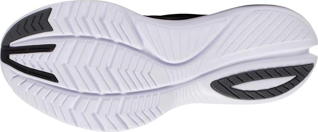 Women's Saucony Kinvara 12 Running Sneaker, Black/Silver, large, image 5