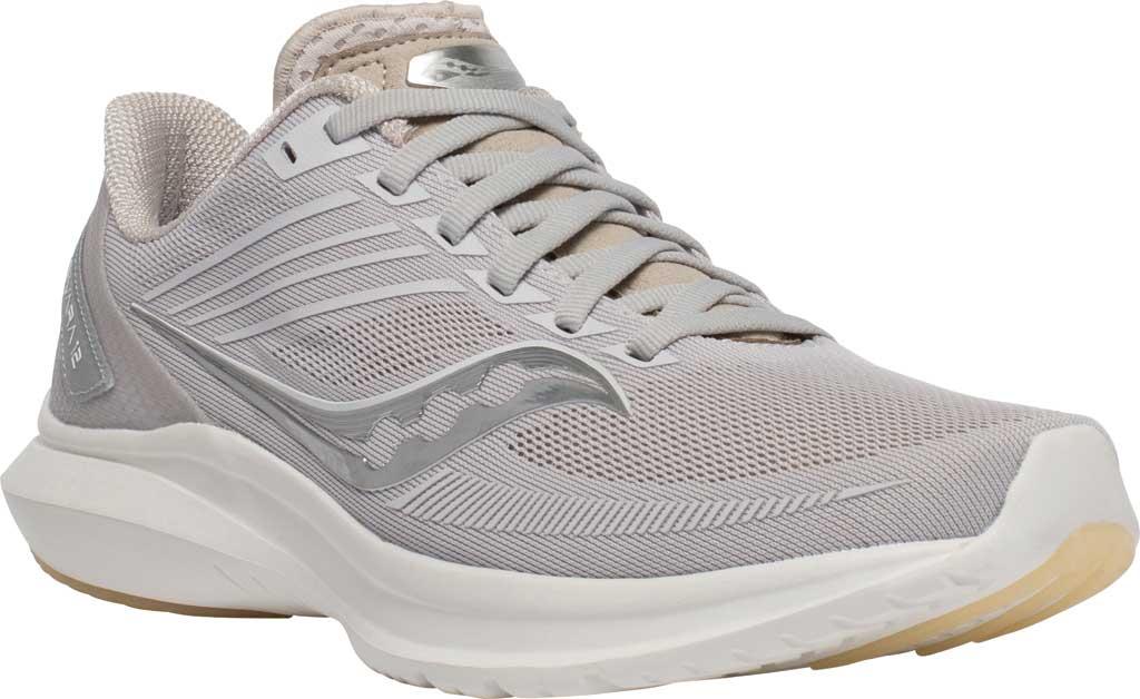 Women's Saucony Kinvara 12 Running Sneaker, New Natural, large, image 1