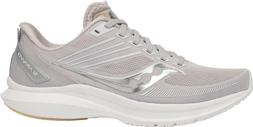 Women's Saucony Kinvara 12 Running Sneaker, New Natural, large, image 2