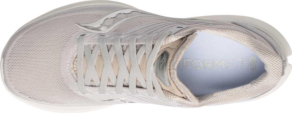 Women's Saucony Kinvara 12 Running Sneaker, New Natural, large, image 4