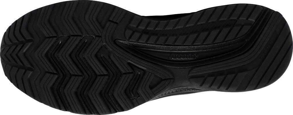 Men's Saucony Cohesion 14 Running Sneaker, Black/Black, large, image 5