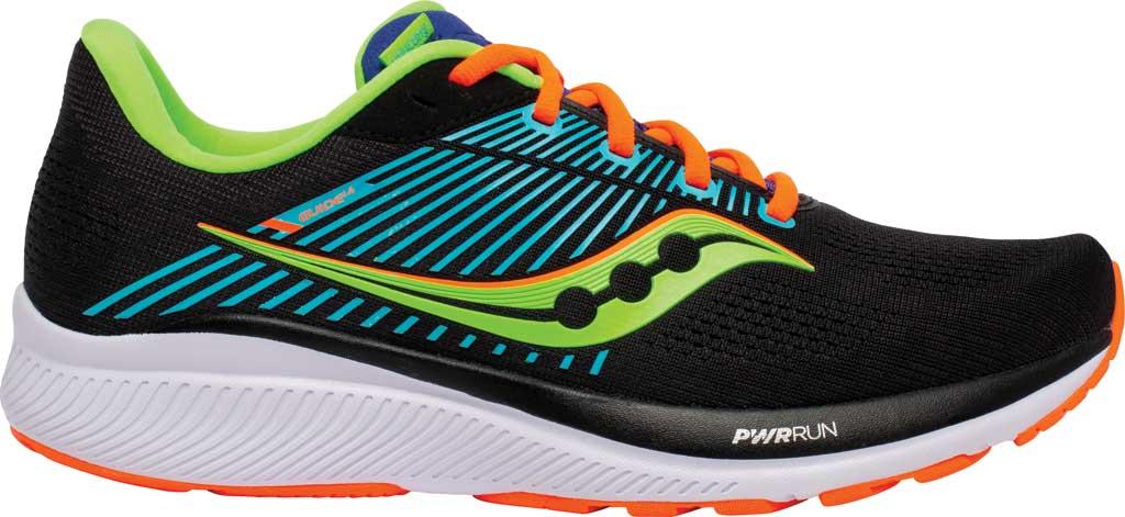 Men's Saucony Guide 14 Running Sneaker, Future/Black, large, image 2