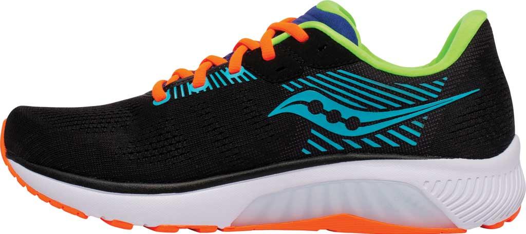 Men's Saucony Guide 14 Running Sneaker, Future/Black, large, image 3