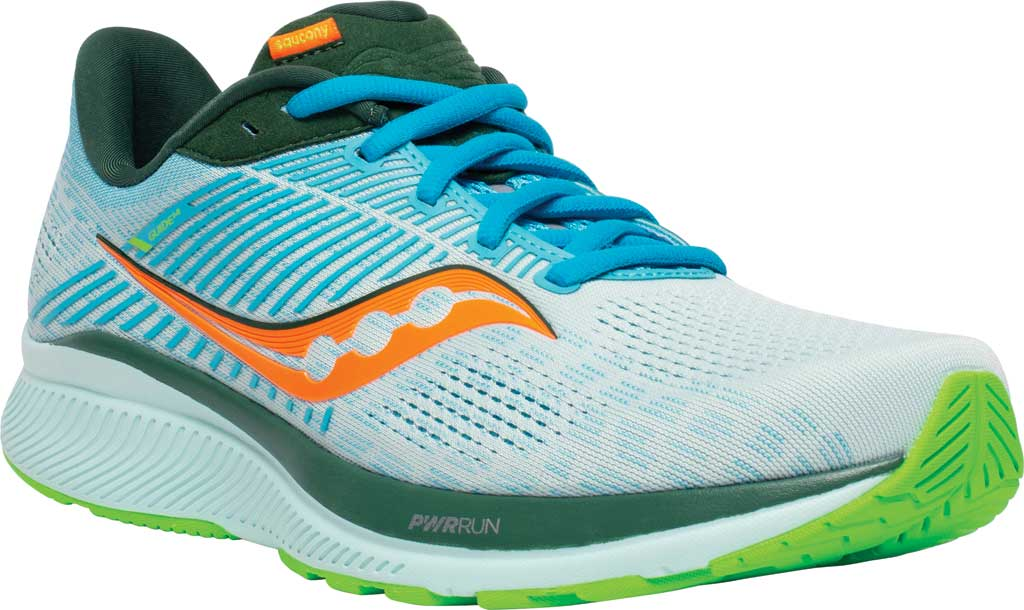 Men's Saucony Guide 14 Running Sneaker, Future/Blue, large, image 1