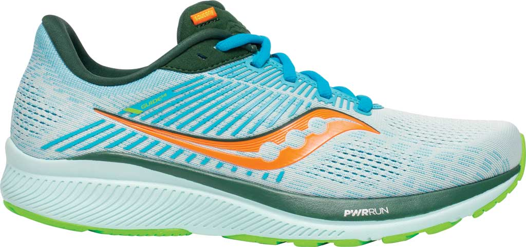 Men's Saucony Guide 14 Running Sneaker, Future/Blue, large, image 2
