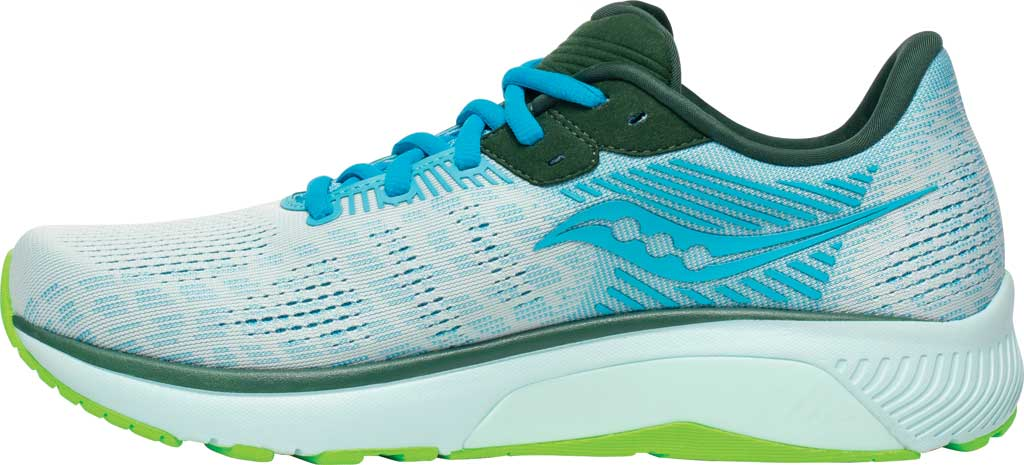 Men's Saucony Guide 14 Running Sneaker, Future/Blue, large, image 3
