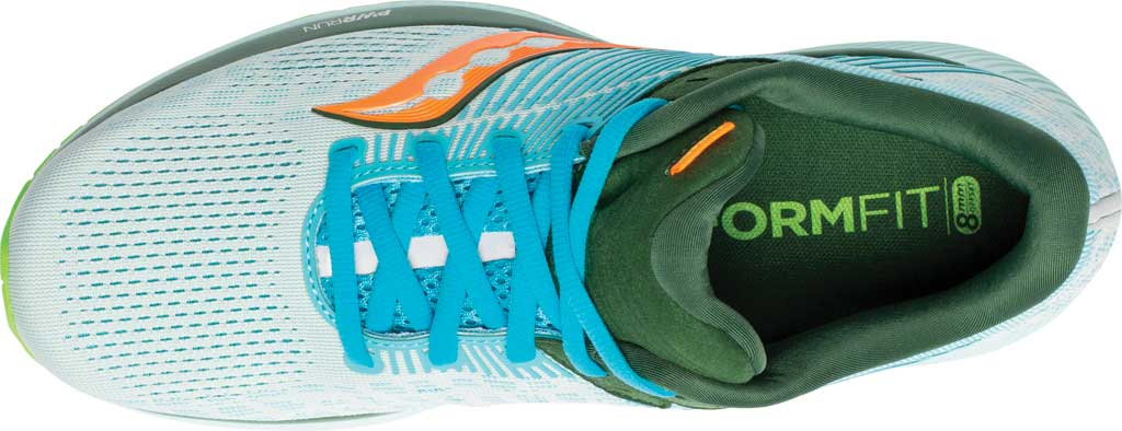 Men's Saucony Guide 14 Running Sneaker, Future/Blue, large, image 4