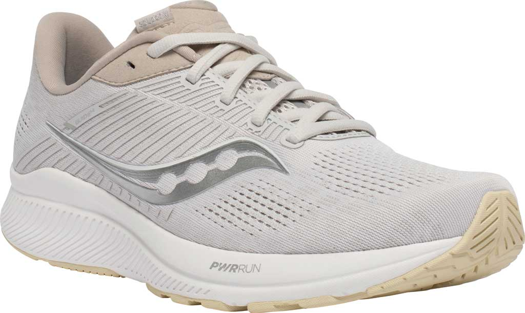 Men's Saucony Guide 14 Running Sneaker, New Natural, large, image 1