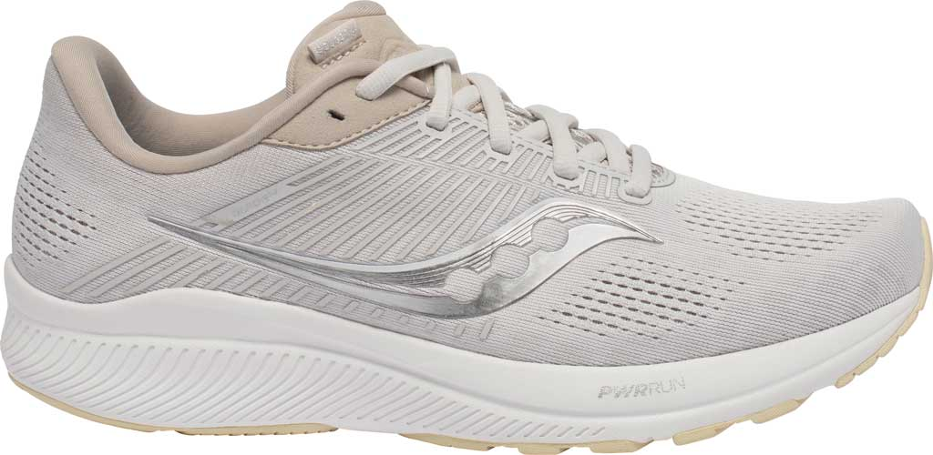 Men's Saucony Guide 14 Running Sneaker, New Natural, large, image 2