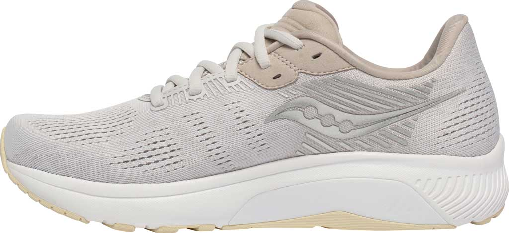 Men's Saucony Guide 14 Running Sneaker, New Natural, large, image 3