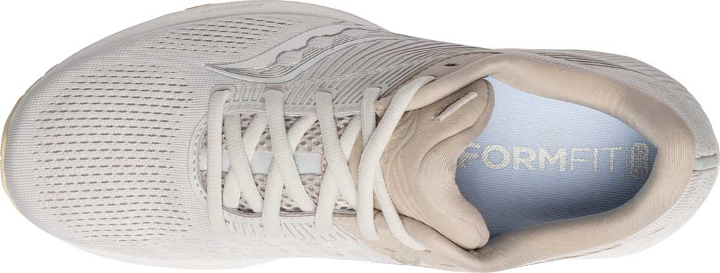 Men's Saucony Guide 14 Running Sneaker, New Natural, large, image 4
