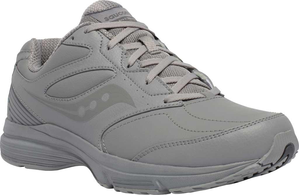 Men's Saucony Integrity Walker 3 Sneaker, Grey, large, image 1