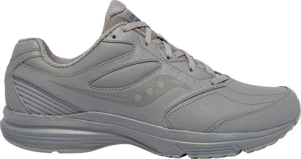 Men's Saucony Integrity Walker 3 Sneaker, Grey, large, image 2
