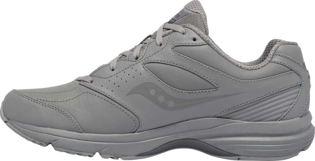 Men's Saucony Integrity Walker 3 Sneaker, Grey, large, image 3