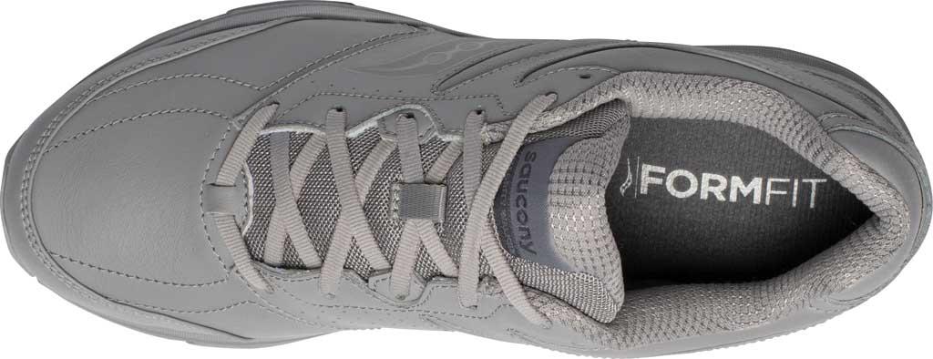 Men's Saucony Integrity Walker 3 Sneaker, Grey, large, image 4