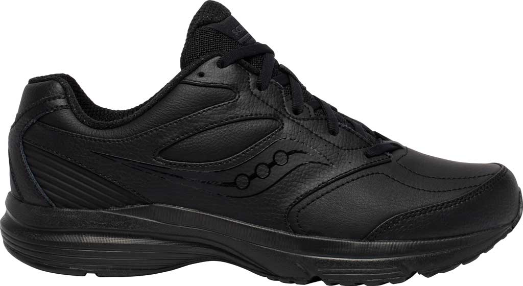Men's Saucony Integrity Walker 3 Sneaker, Black, large, image 2