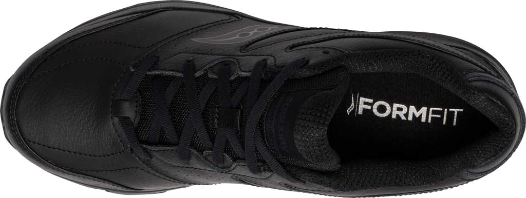 Men's Saucony Integrity Walker 3 Sneaker, Black, large, image 4