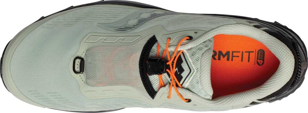 Men's Saucony Peregrine 11 ST Trail Running Sneaker, Tide/Black, large, image 4