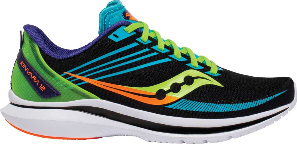 Men's Saucony Kinvara 12 Running Sneaker, Future/Black, large, image 2