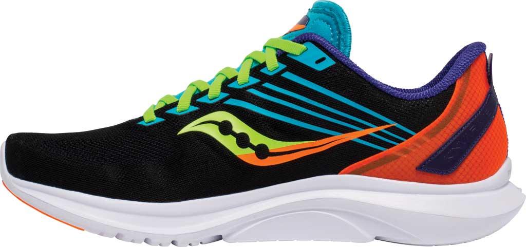 Men's Saucony Kinvara 12 Running Sneaker, Future/Black, large, image 3