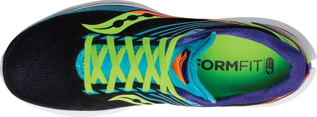 Men's Saucony Kinvara 12 Running Sneaker, Future/Black, large, image 4