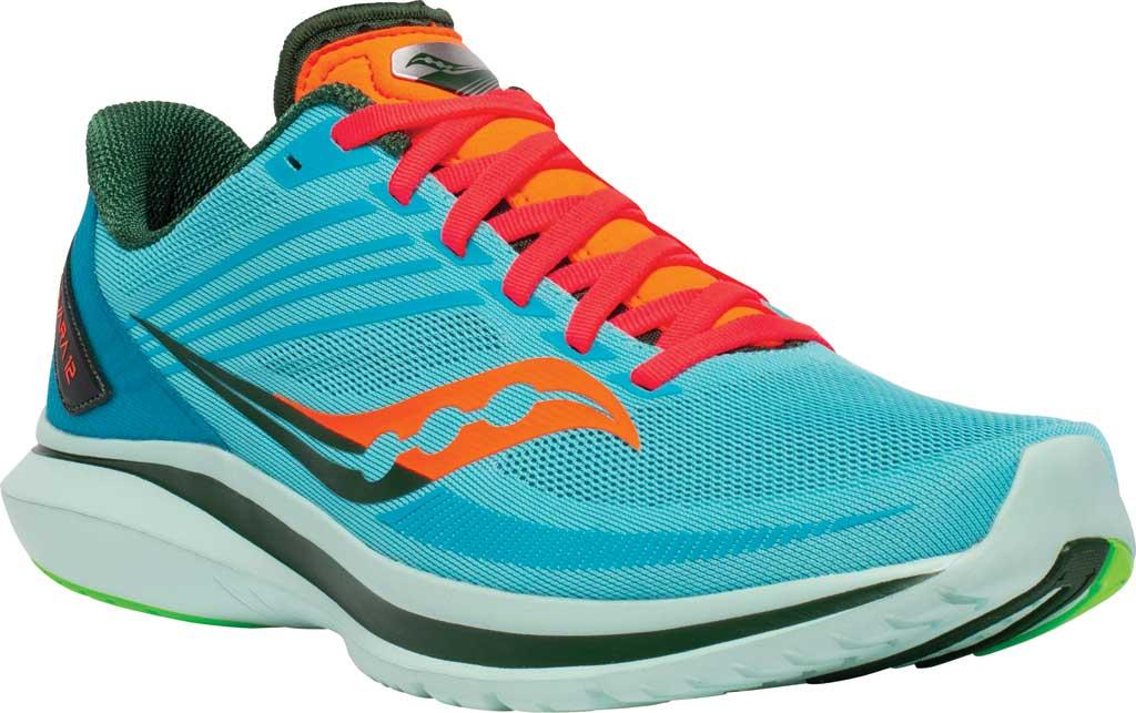 Men's Saucony Kinvara 12 Running Sneaker, Future/Blue, large, image 1