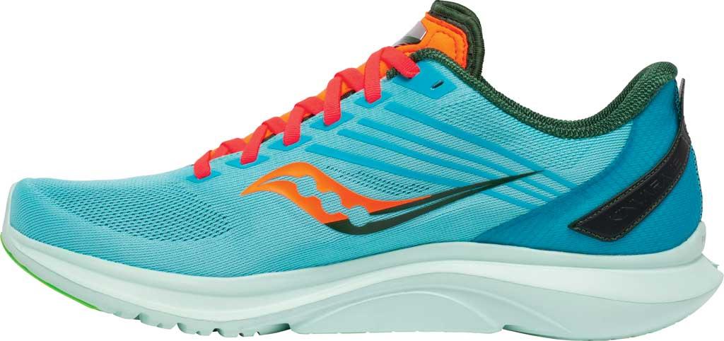 Men's Saucony Kinvara 12 Running Sneaker, Future/Blue, large, image 3