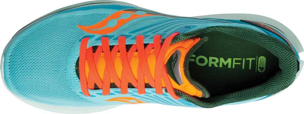 Men's Saucony Kinvara 12 Running Sneaker, Future/Blue, large, image 4