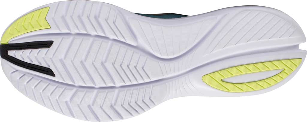 Men's Saucony Kinvara 12 Running Sneaker, Tide/Keylime, large, image 5