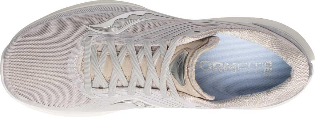 Men's Saucony Kinvara 12 Running Sneaker, New Natural, large, image 4