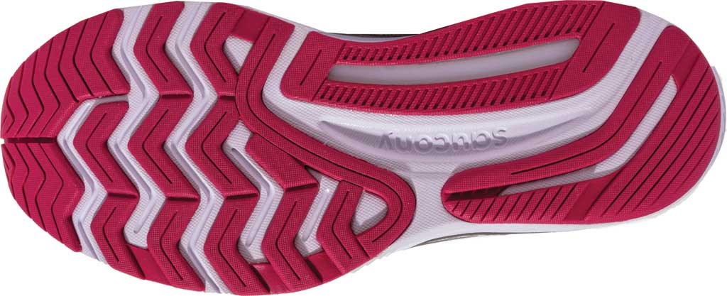 Women's Saucony Guide 14 Running Sneaker, Alloy/Cherry, large, image 3