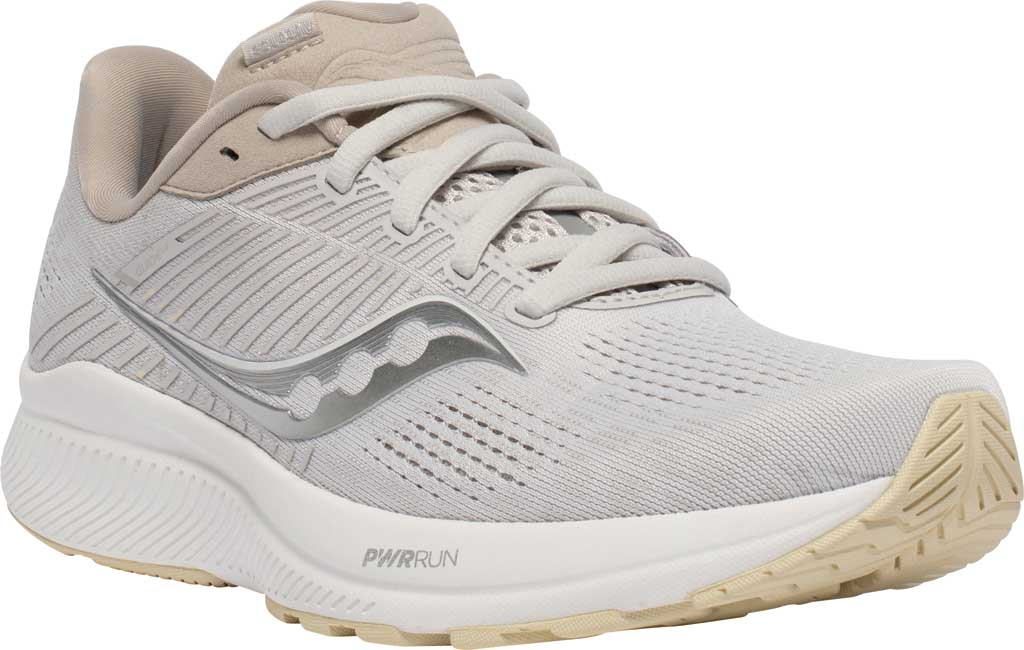 Women's Saucony Guide 14 Running Sneaker, New Natural, large, image 1