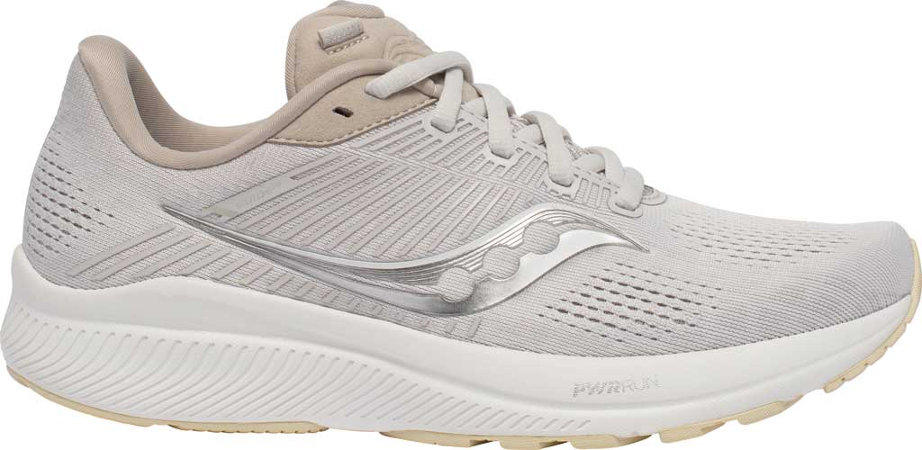 Women's Saucony Guide 14 Running Sneaker, New Natural, large, image 2
