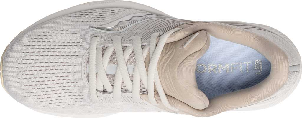 Women's Saucony Guide 14 Running Sneaker, New Natural, large, image 4
