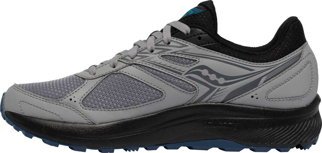 Men's Saucony Cohesion TR14 Trail Running Sneaker, Alloy/Cobalt, large, image 3