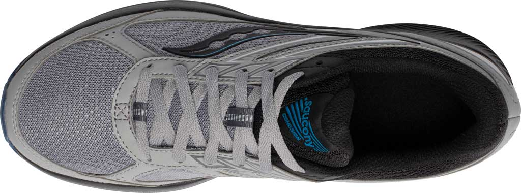 Men's Saucony Cohesion TR14 Trail Running Sneaker, Alloy/Cobalt, large, image 4