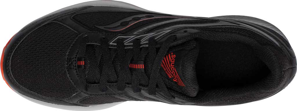 Men's Saucony Cohesion TR14 Trail Running Sneaker, Black/Tomato, large, image 4