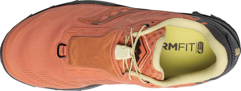 Women's Saucony Peregrine 11 ST Trail Running Sneaker, Rust/Charcoal, large, image 4
