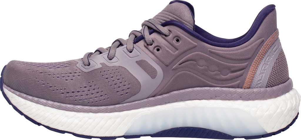 Women's Saucony Hurricane 23 Running Sneaker, Zinc/Midnight, large, image 3
