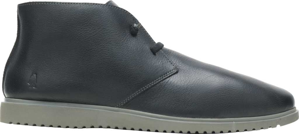 Men's Hush Puppies The Everyday Chukka Boot, Black Leather, large, image 1